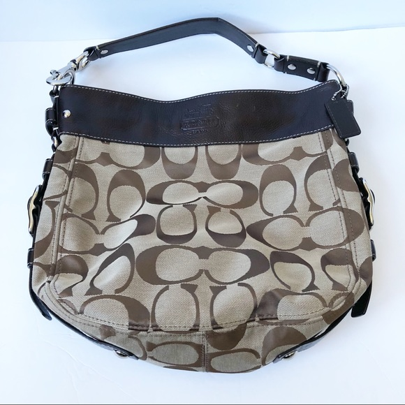 286daefc1283c Coach Handbags - Coach Zoe large signature hobo bag